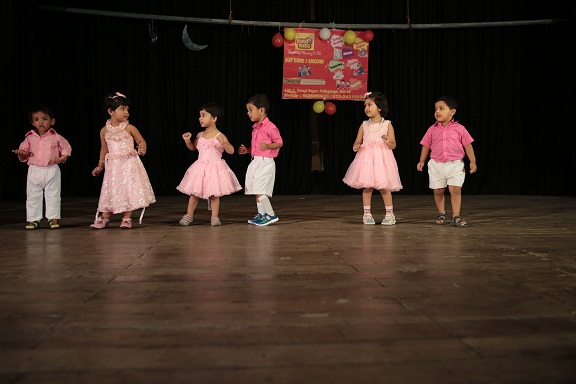 Dance performance of Eurokids behala playgroup children