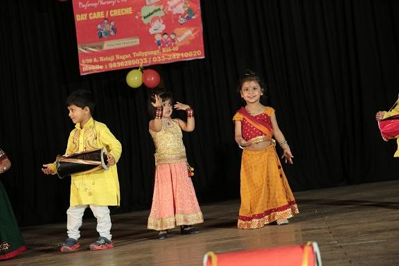 Dance performance of Eurokids Behala Arcadia Students